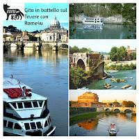 Gita in battello con visite guidata sulle bellezze di Roma