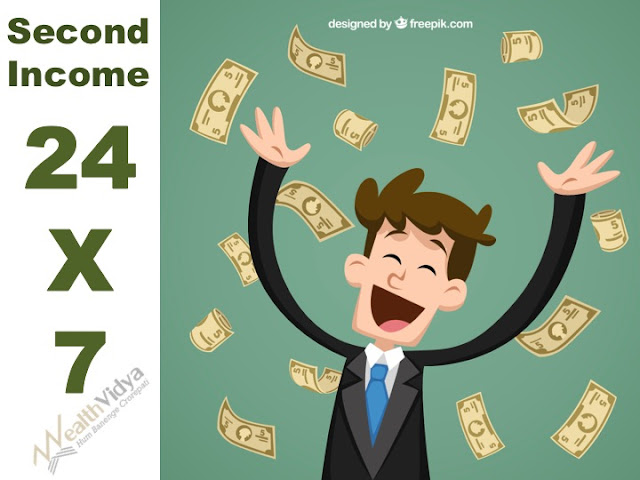 investor's exuberance at 24x7 rain of second income