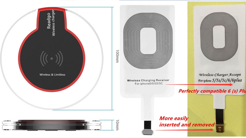 wireless charger for iphone 7 plus