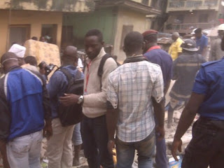 3 storey building collapsed lagos pictures