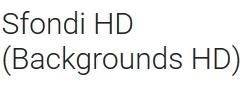 COLLEZIONE DI MIGLIAIA DI SFONDI IN HD GRATIS PER SMARTPHONE ANDROID