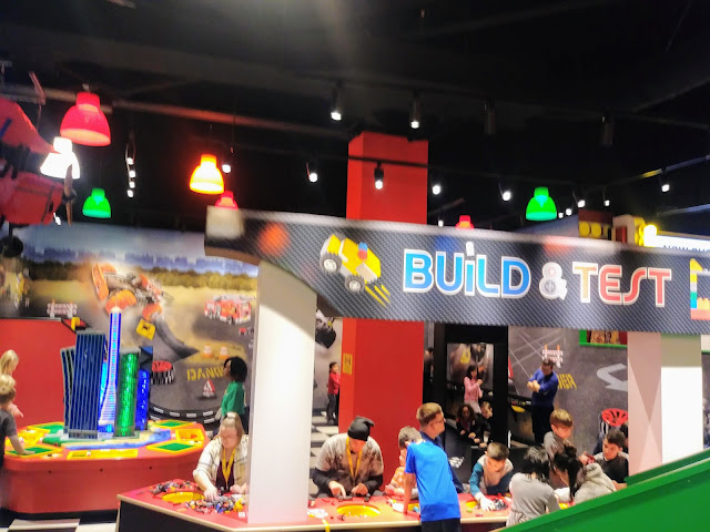 LEGOLAND Discovery Center Columbus Build and Test