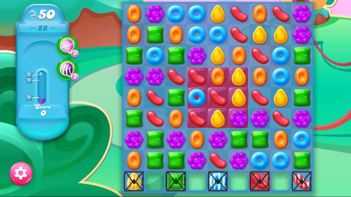 Candy Crush Jelly Saga 28