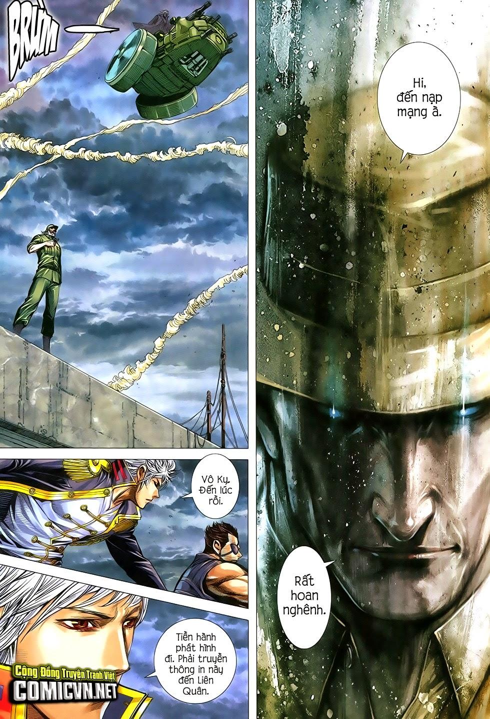 Đại Quân Phiệt chap 29 trang 23