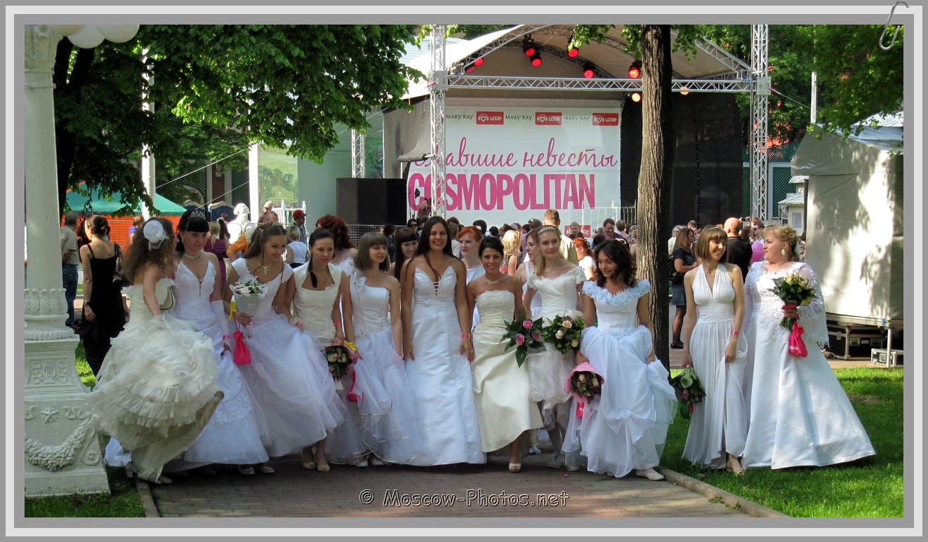 Really Runaway Moscow Brides 2011!