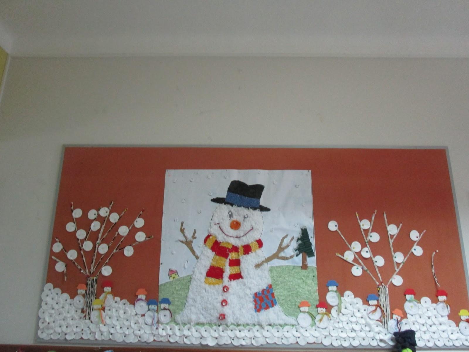 """""""O Nosso Blogue"""" Decoraç u00e3o de Natal da nossa Escola do 1 u00ba Ciclo # Decoração De Natal Simples Escola"""