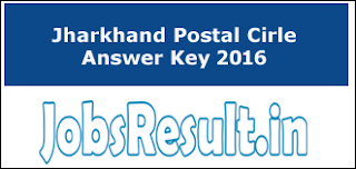 Jharkhand Postal Circle Answer Key 2016