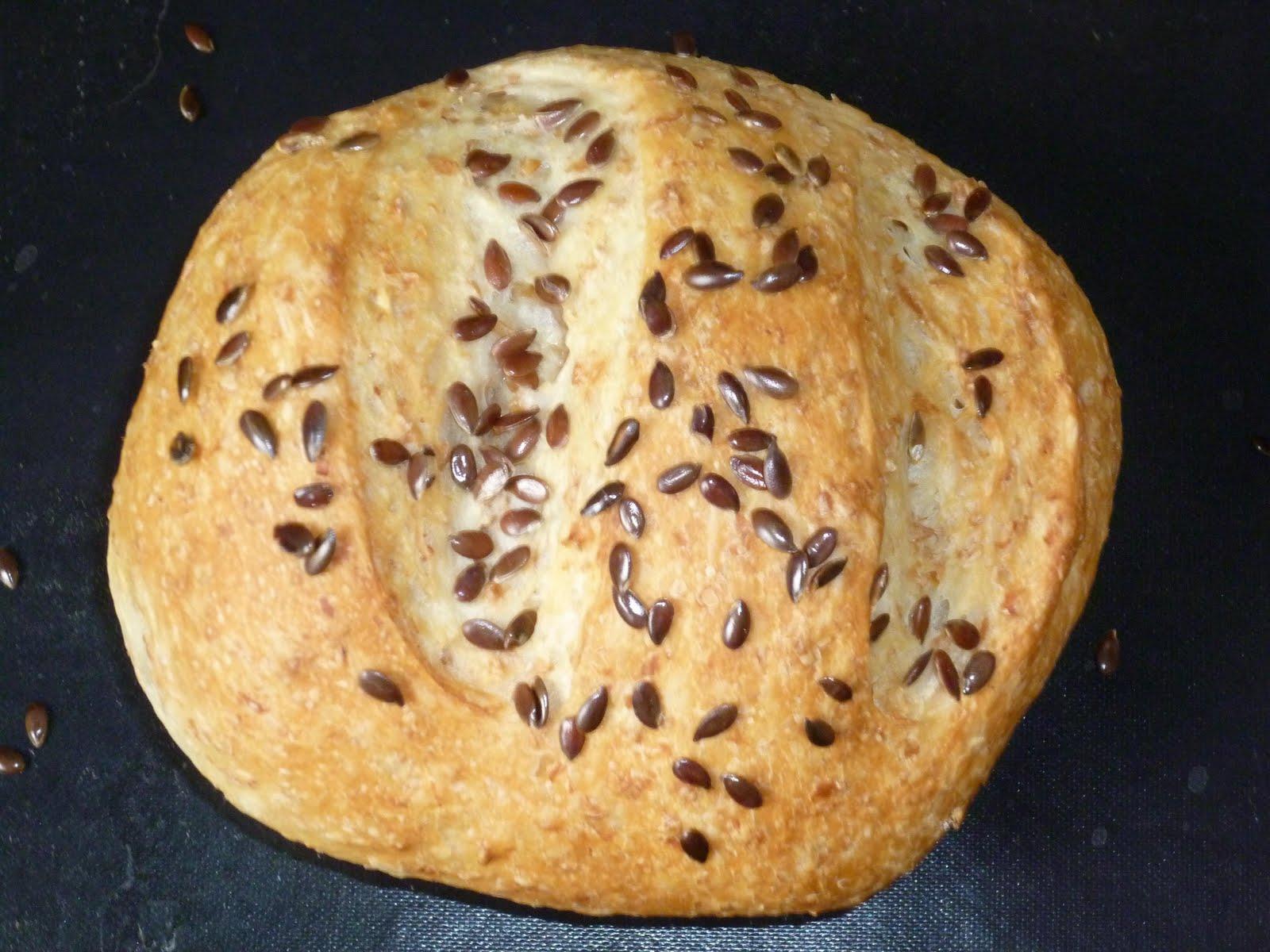 saveurs et exp riences petits pains la farine bise ses graines de lin. Black Bedroom Furniture Sets. Home Design Ideas