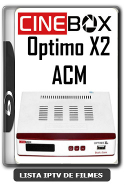 Cinebox Optimo X2 ACM Melhorias no IKS Nova Atualização - 09-01-2020