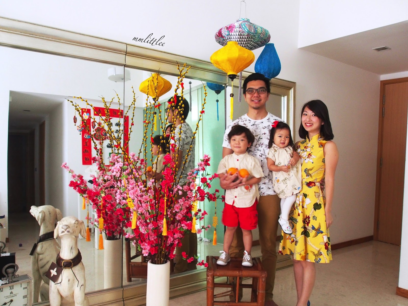 I Still Buy Us All New Sets Of Clothes For The First Day Of Chinese New Year.  Photographing The Family In Our 新衣裳 [new Clothes] Completes The Picture.
