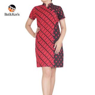 model batik keris wanita modern