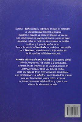 Mario Hernández Sánchez-Barba: España: historia de una nación, 1995,libro