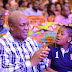 Mahama floods social media with daughter's pics as she turns 10