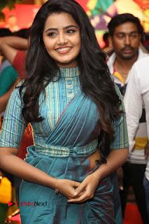 Actress Anupama Parameswaran Stills in Stylish Saree at Shatamanam Bhavathi Audio Launch  0039.JPG