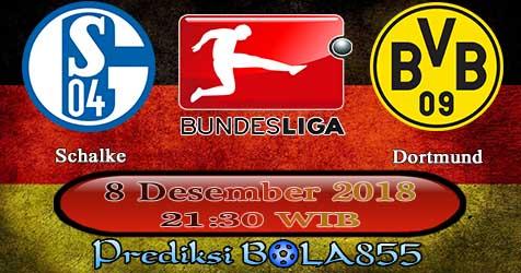 Prediksi Bola855 Schalke vs Dortmund 8 Desember 2018