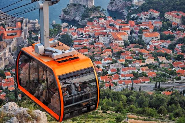 Dubrovnik, Croatia, Sunset, Old City, view, travel, blog, tbloggers Lokrum Island, GoT, Game of Thrones, Cable Car