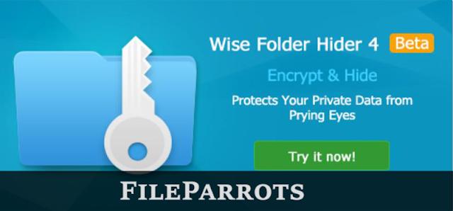 Wise Folder Hider 4 Portable Free Download Logo Image