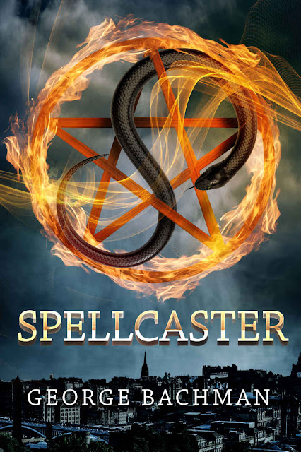 spellcaster, george-bachman, book, cover