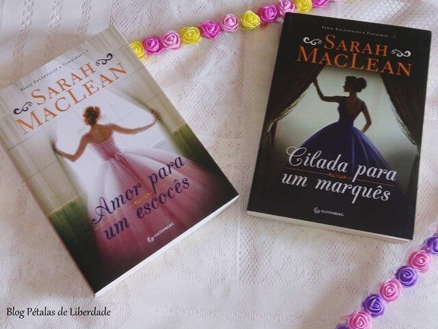 série Escândalos e Canalhas, da Sarah MacLean, romance de época