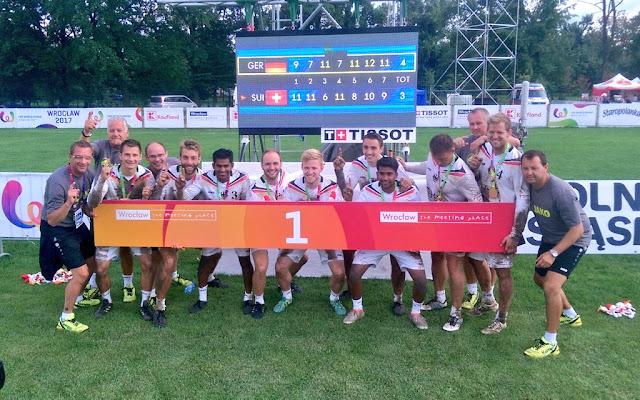 Alemania fue el campeón del torneo de Fitbol en los Juegos Mundiales 2017