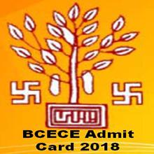 BCECE Admit Card 2018