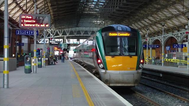 Check in e dicas para a viagem de trem na Irlanda e na Europa