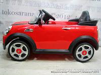 Mobil Mainan Aki Junior W446EQ Mini Cooper S Lisensi
