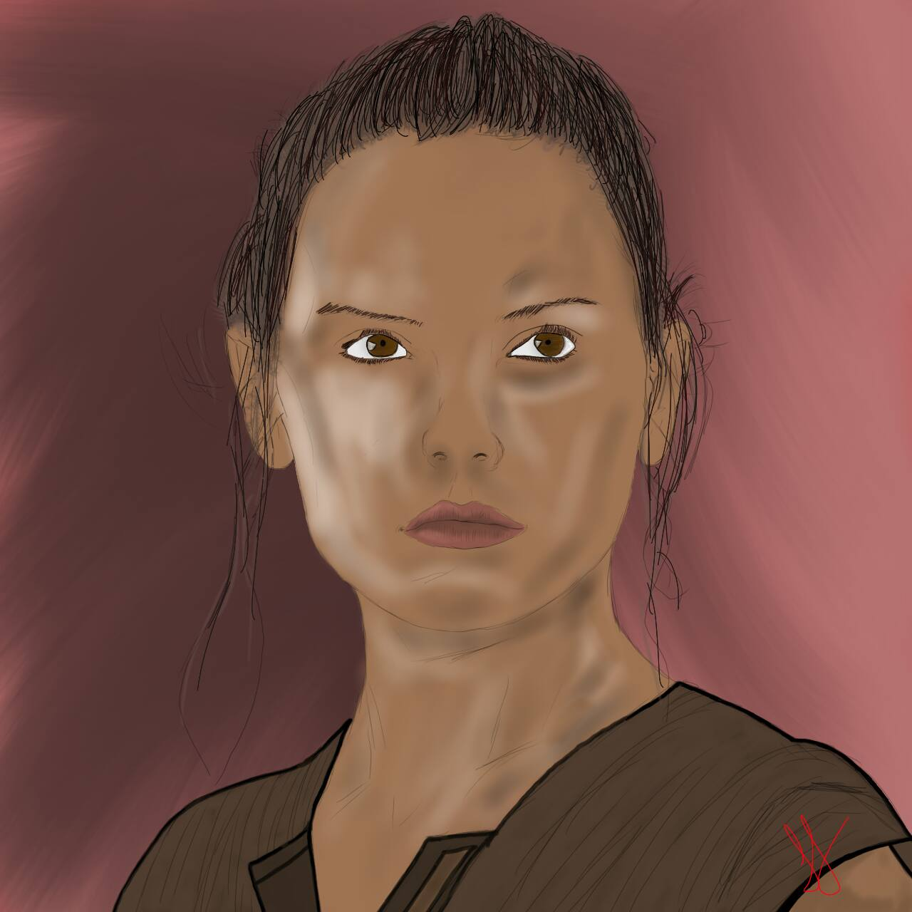 The Face of Rey