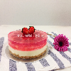Strawberry Tofu Cheesecake