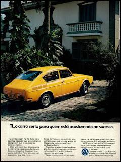 propaganda  Volswagen TL - 1973, propaganda Volkswagen - 1973, vw anos 70, carros Volkswagen década de 70, anos 70; carro antigo Volks, década de 70, Oswaldo Hernandez,