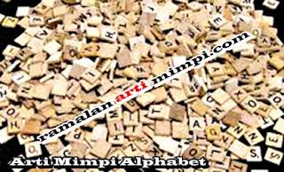 Arti Mimpi Alphabet