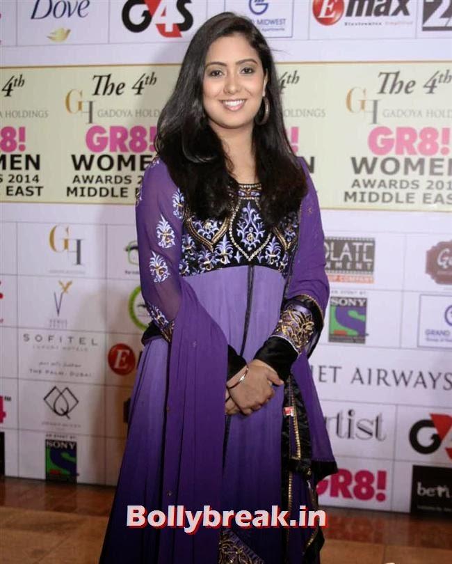 Harshdeep Kaur, Shriya, Kangna, Barkha at 4th GR8 Women Awards 2014