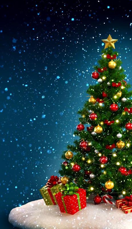Christmas Tree Merry Christmas Wallpaper