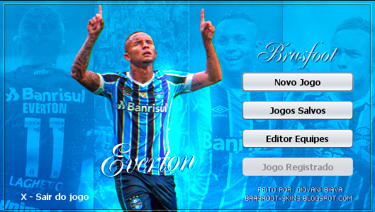 Skin Brasfoot 2019 - Everton - Grêmio