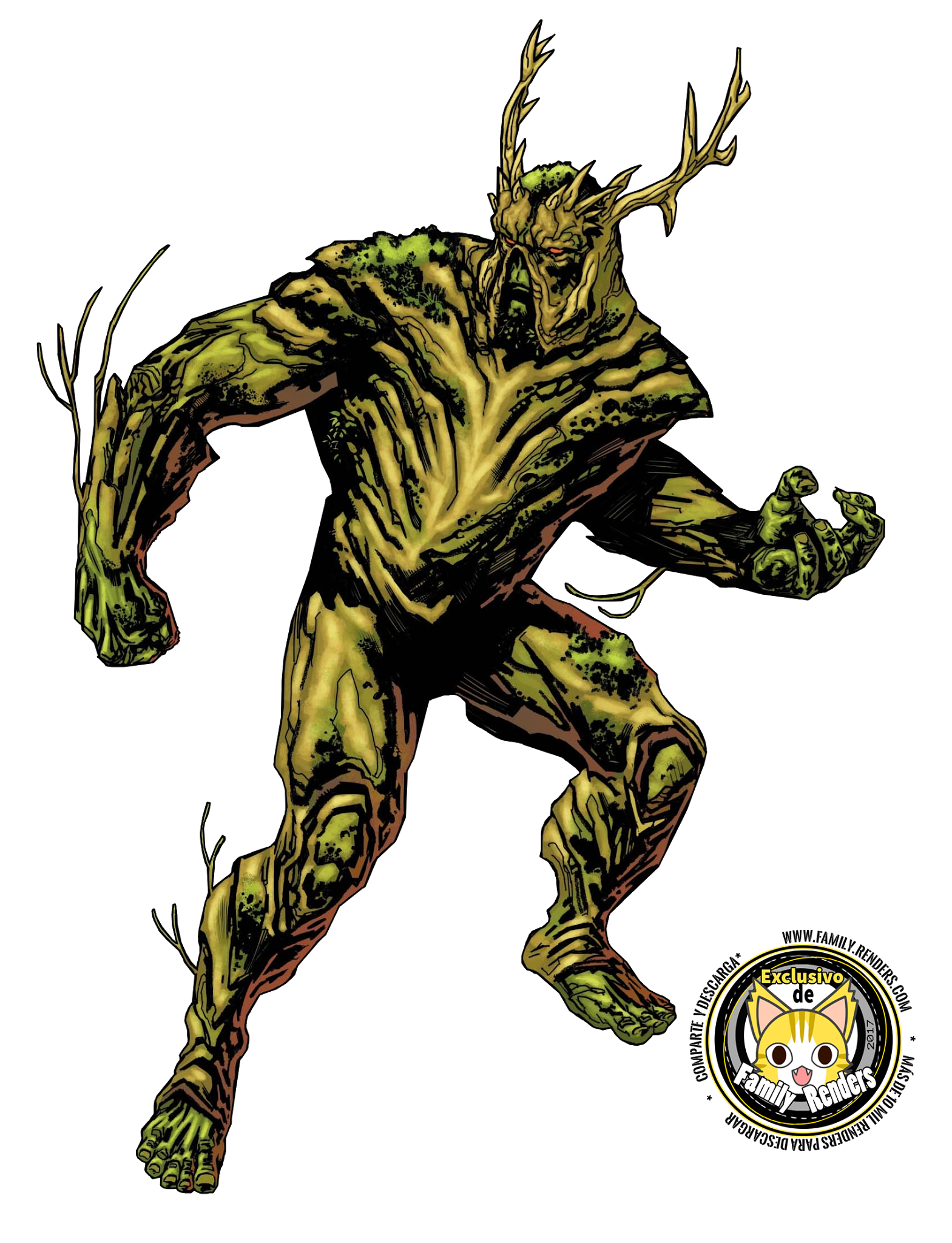render Swamp Thing