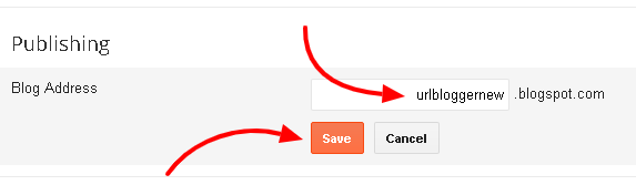 Cara Mengganti Alamat URL Blog Baru