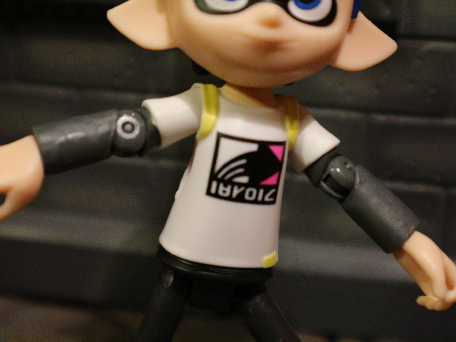 Inkling Boy Is Also Wearing A Cool Shirt The Print On It Really Neat And Clean Helps To Bring Some More Life Figure