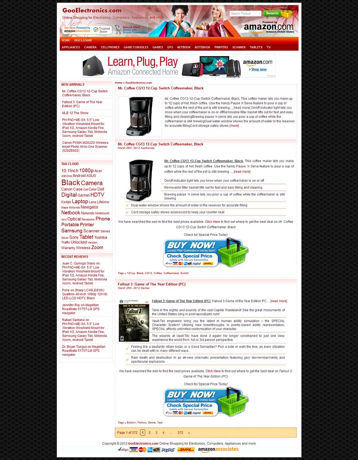 Free WPZoner Amazon Wordpress Theme | Free Theme Premium | Free