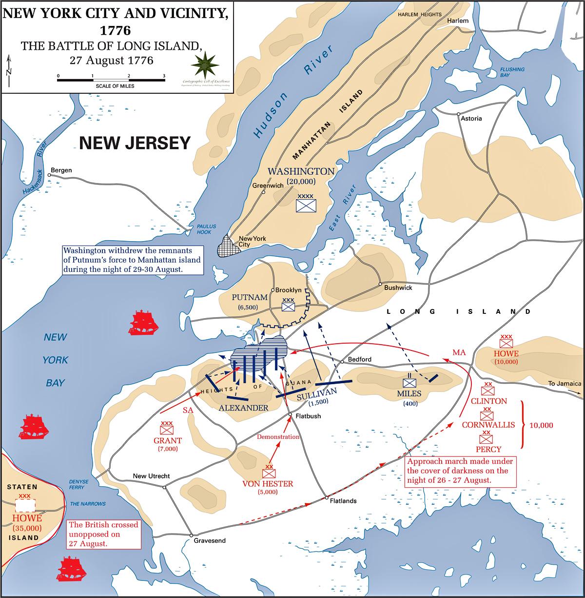 Long Island: Then....A Patriot I'll Be: Battle Of Long Island