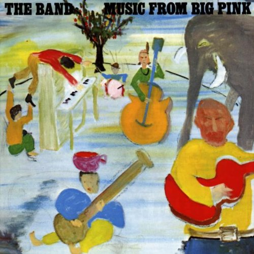 Reseña: The Band - Music from big pink