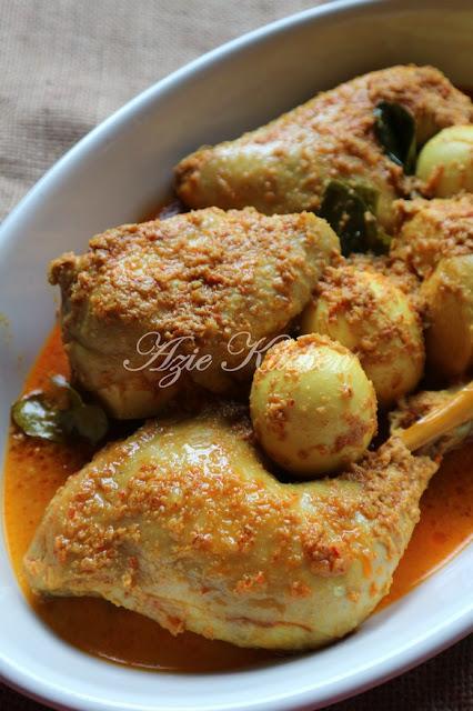 Kalio Ayam Masakan Minang Yang Sedap