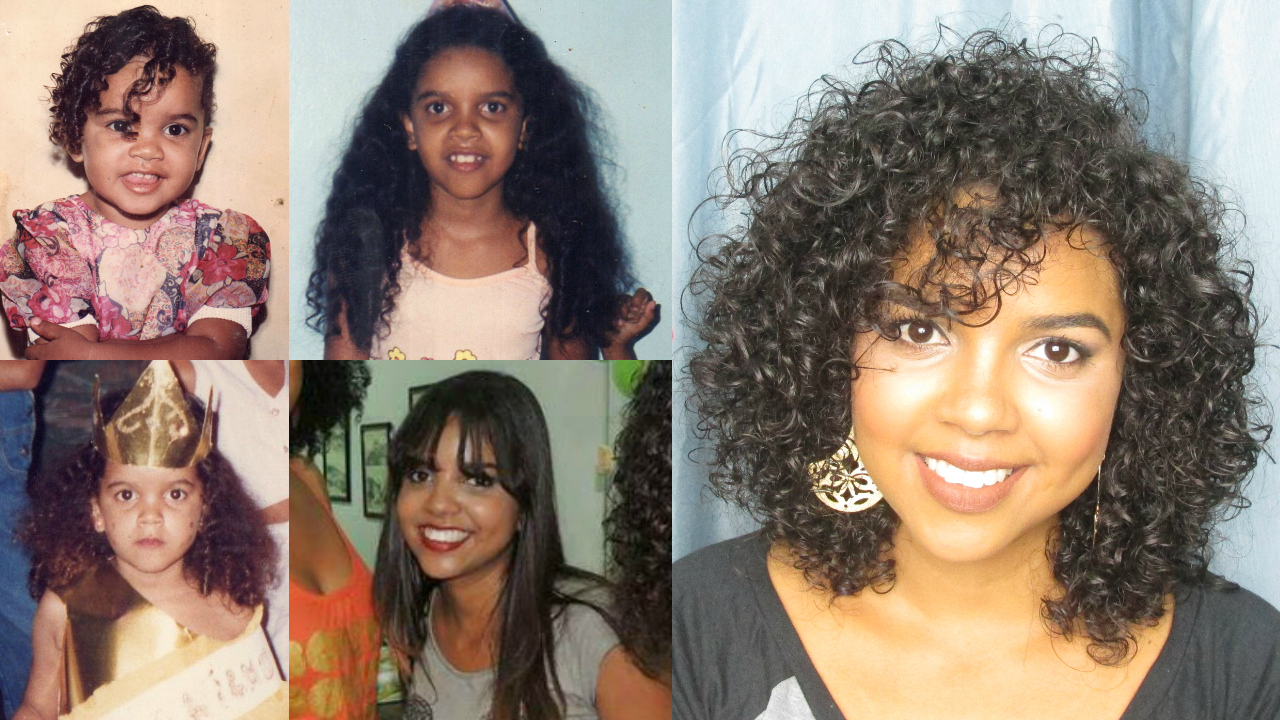 Natália Sena, A História do meu cabelo 3A, A História do meu cabelo, transição capilar