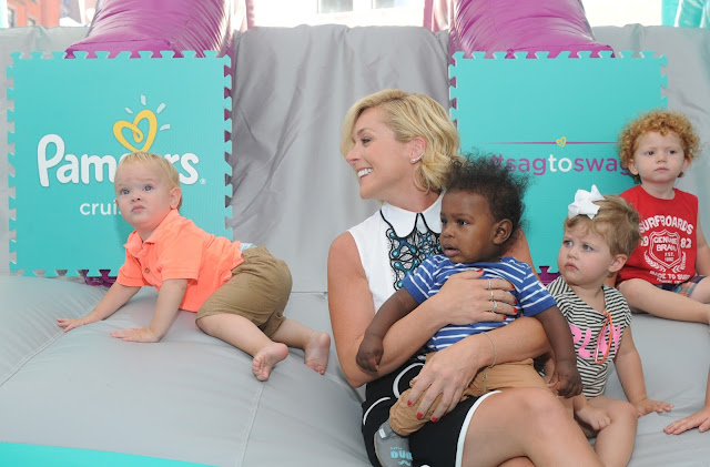 Jane Krakowski at Pampers Cruiser #SagToSwag launch in New York