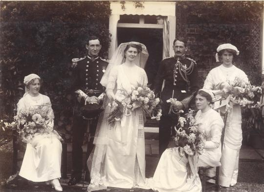 Wedding in England, 1912