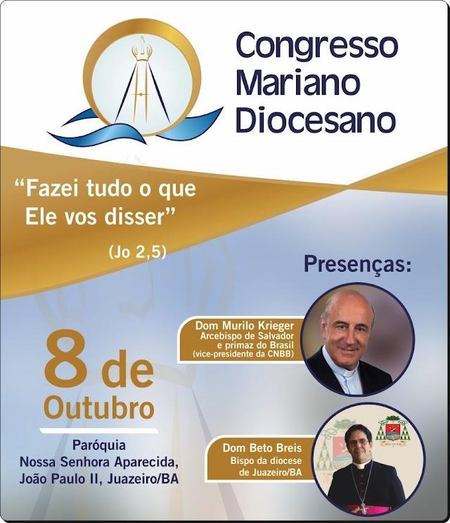 DIOCESE DE JUAZEIRO VAI REALIZAR CONGRESSO EM HOMENAGEM A 300 ANOS DE APARECIDA. DEFESA DO RIO FAZ PARTE DA PROGRAMAÇÃO