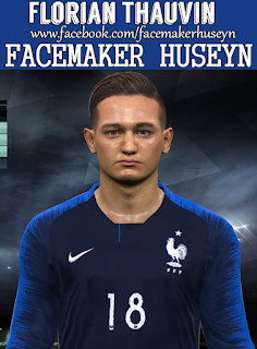 PES 2017 Faces Florian Thauvin by Facemaker Huseyn