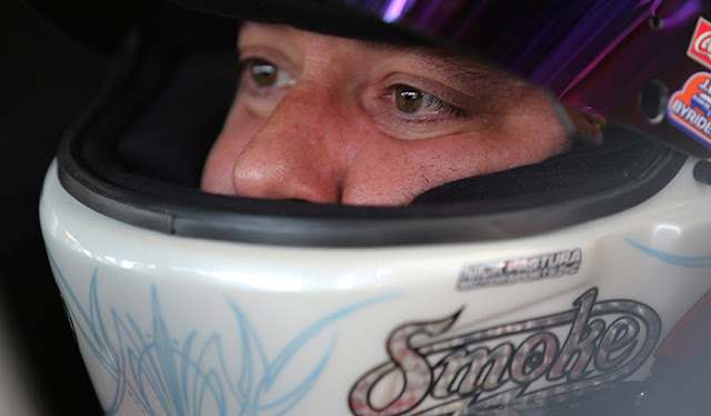 Tony Stewart doing his best to make up for early season misses