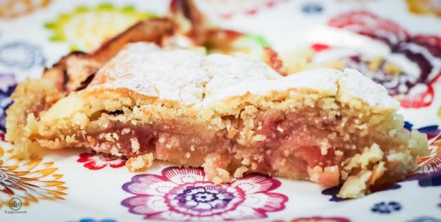 Gedeckter Apfelkuchen Rezept aus Österreich - Foodblog Topfgartenwelt