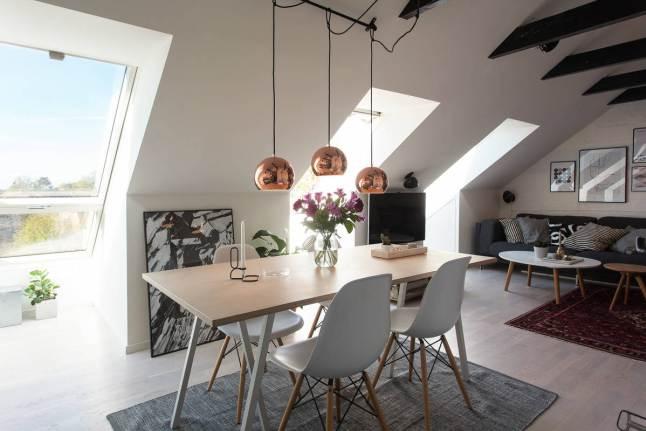 Mesa de comedor de estilo contemporáneo