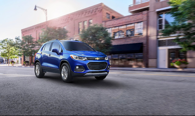 Chevrolet Announced New Features for 2017 Trax